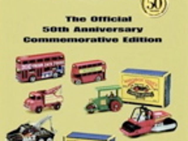 Jalopnik Holiday Gift Guide: Matchbox 50th Anniversary Commemorative Edition Book