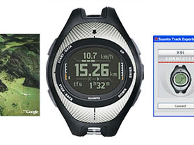 GPS Coolness: Downloading Suunto and Garmin Forerunner Data into Google Earth