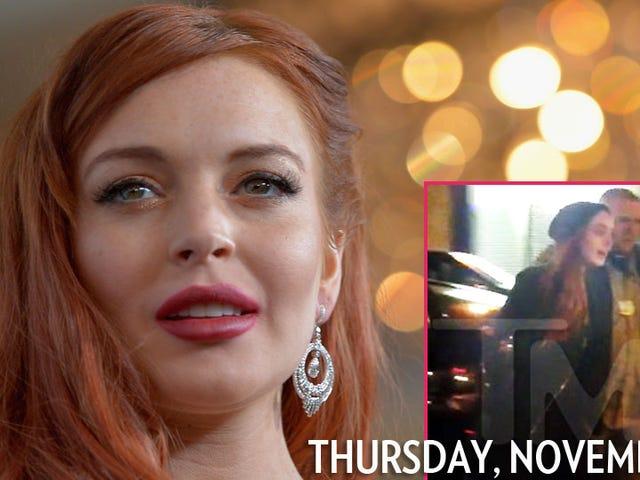 It's Thursday So Lindsay Lohan Got Arrested Again