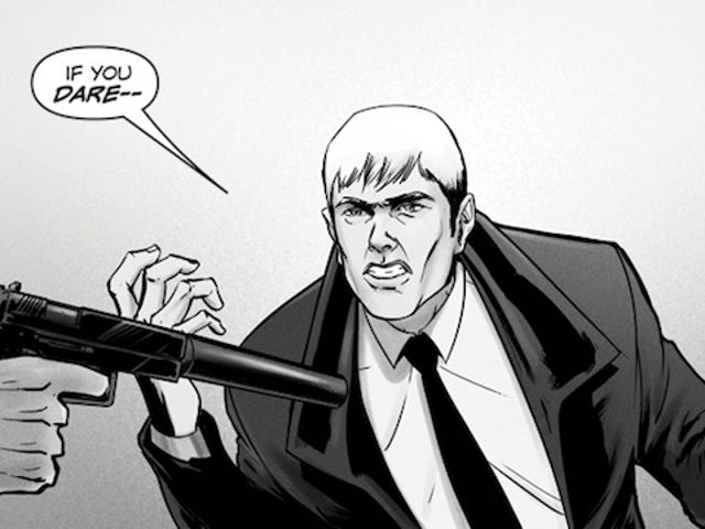 Saturday Webcomic: Propeller is a Hitchcock-inspired thriller—with superpowers