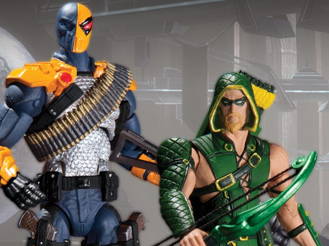 Injustice Action Figures Let You Plan Superhero Fights in Your Bedroom