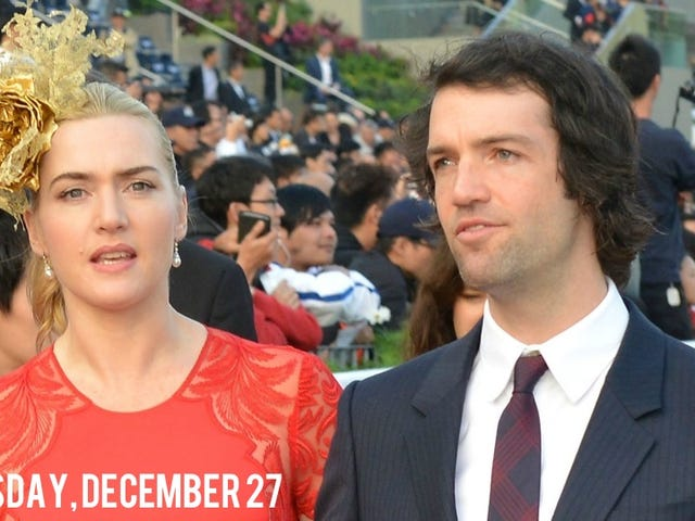 Kate Winslet Secretly Got Married Yesterday, Is Officially Mrs. Rocknroll