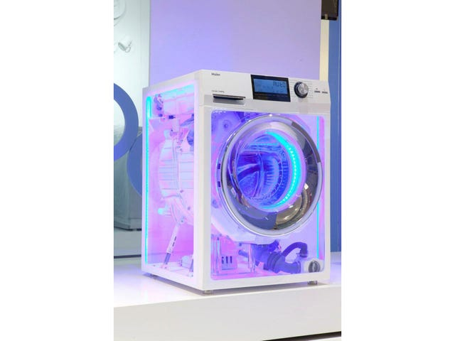 This Insane Transparent Washer Is Already the Best Vaporware of 2013
