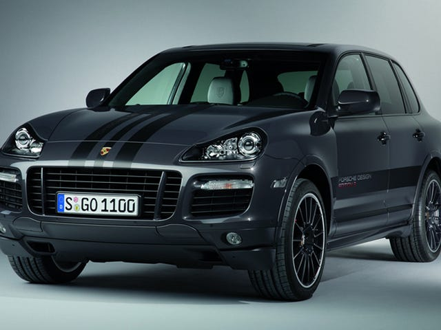 Porsche Cayenne GTS Design Edition 3: Blacula's New Ride