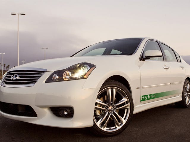 Hybrid Luxury Sedan In Infiniti's Future?