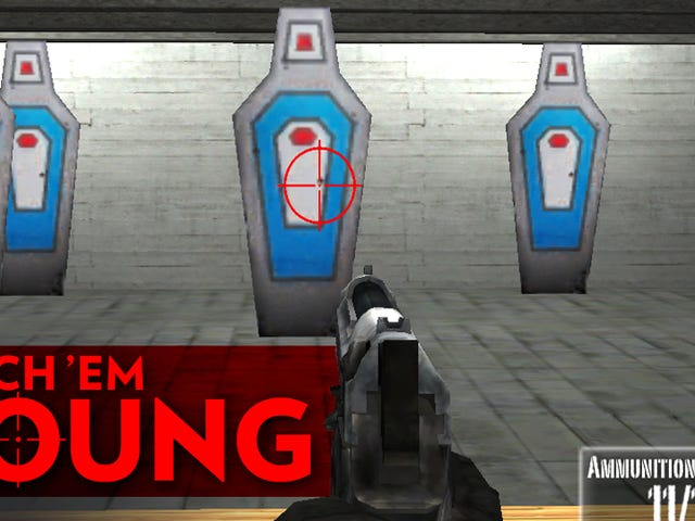 NRA Generously Gives Us Free Shooting Games for Four-Year-Olds