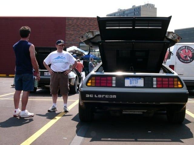 Crazy Euro Car Boy Meets DeLorean for First Time