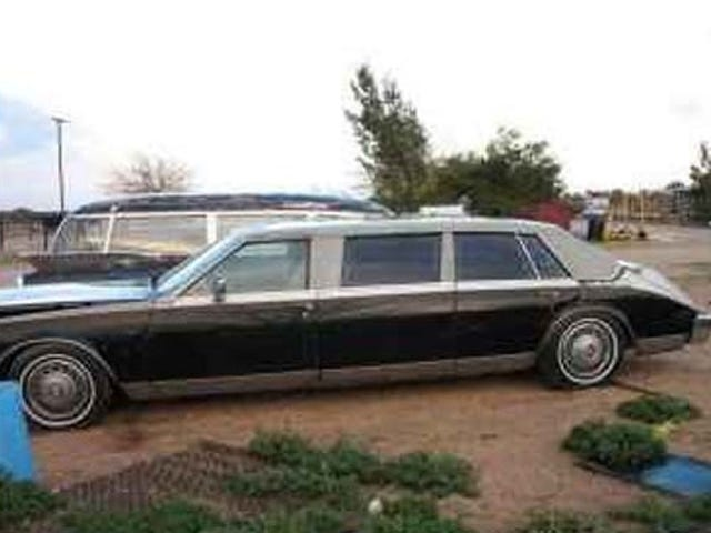 Deal Of The Year: Bustle-Back Ex-CIA Seville Limo For $350- Ran When Parked!