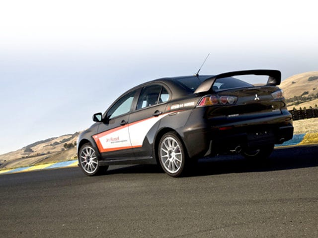 Jim Russell Lancer Evolution Experience: Because Oversteer Kicks Ass