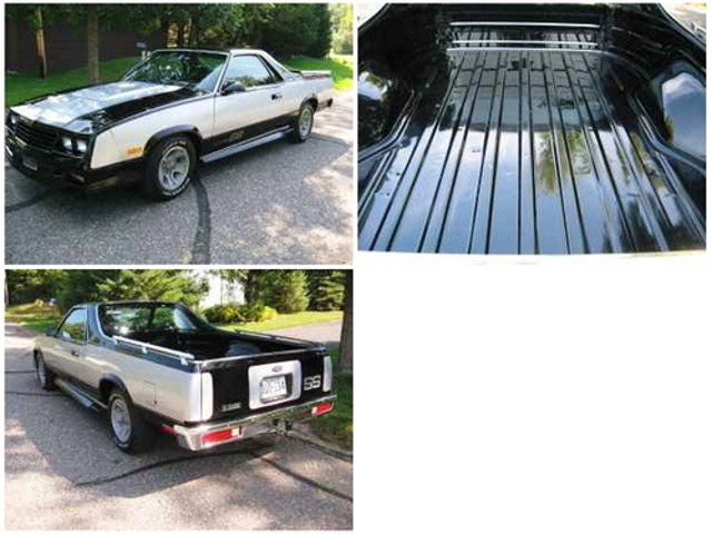 Choo-choo-choose a 1986 El Camino SS for $14,555!
