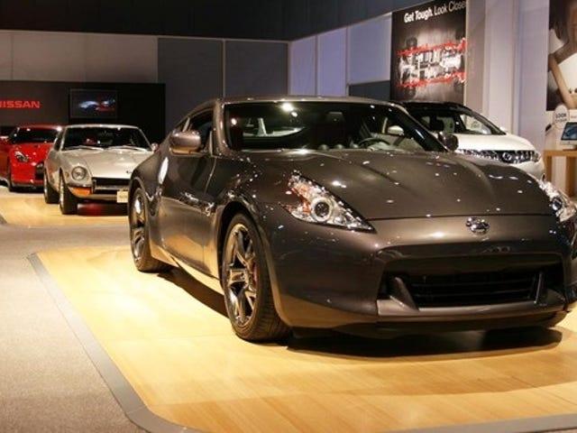 Nissan 370Z 40th Anniversary Bows With Dastun 240Z, GT-R Lurking Behind