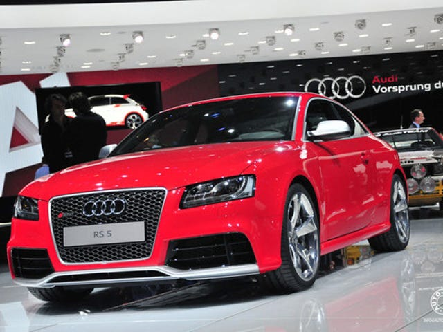 2010 Audi RS5: Geneva Comes Early This Year