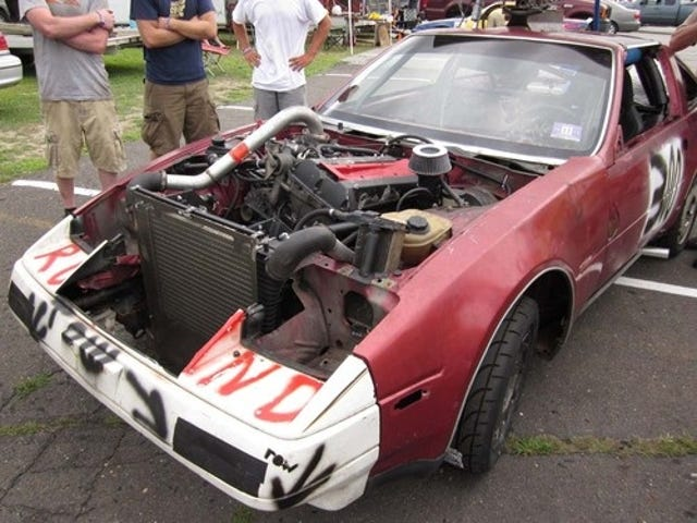Nearly The Engine Swap Of The Day: Saab Turbo B Into Nissan 300ZX!