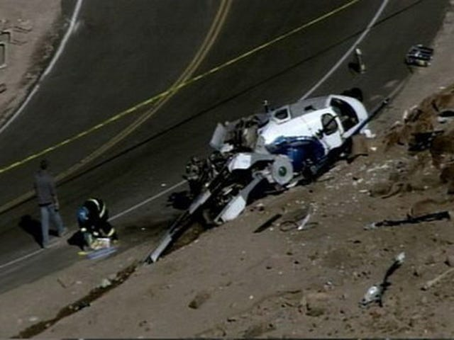 Helicopter Crew In Pikes Peak Audi Commercial Shoot Released From Hospital