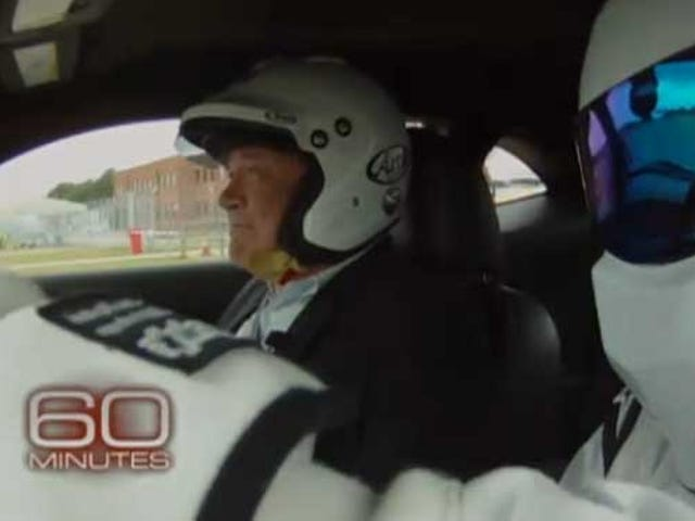 60 Minutes Tries To Get The Stig To Talk