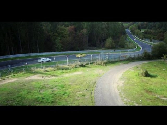 A Drone's Eye View Of The Nürburgring