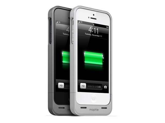 Mophie's iPhone 5 Juice Pack Helium: Double Battery Life for Not Much More Heft