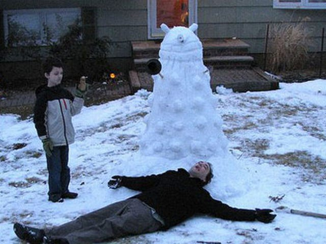 Beware The Superior Snow-Creature Of The Universe: The Snow Dalek!