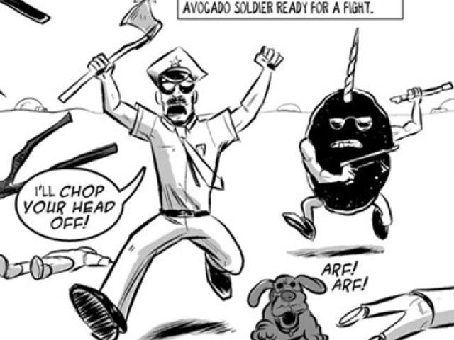 Axe Cop Will Chop Your Head Off