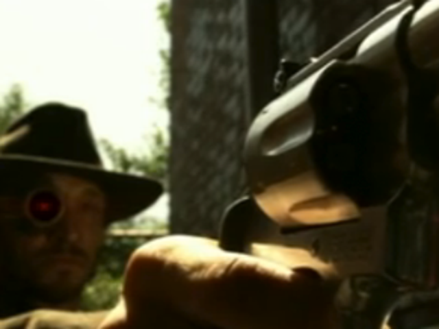 On Smallville, Deadshot takes aim at Clark (who dons new duds)