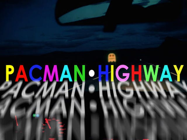 If Pac-Man was a terrifying real world car chase, it would look like this