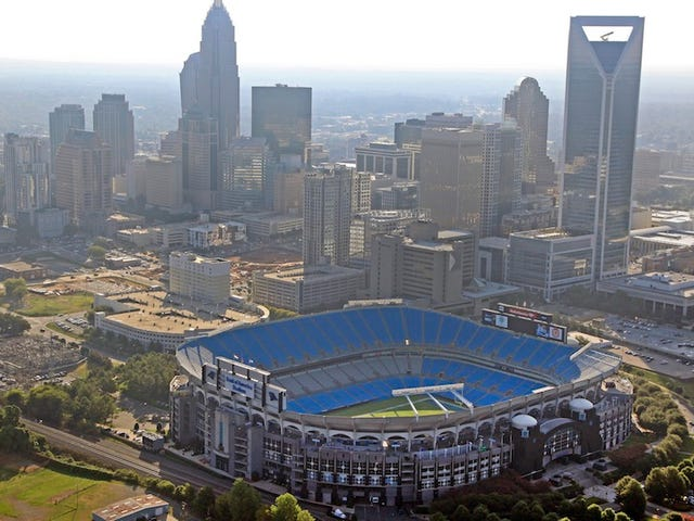 The Panthers Want $200 Million In Public Funding To Renovate Their 17-Year-Old Stadium