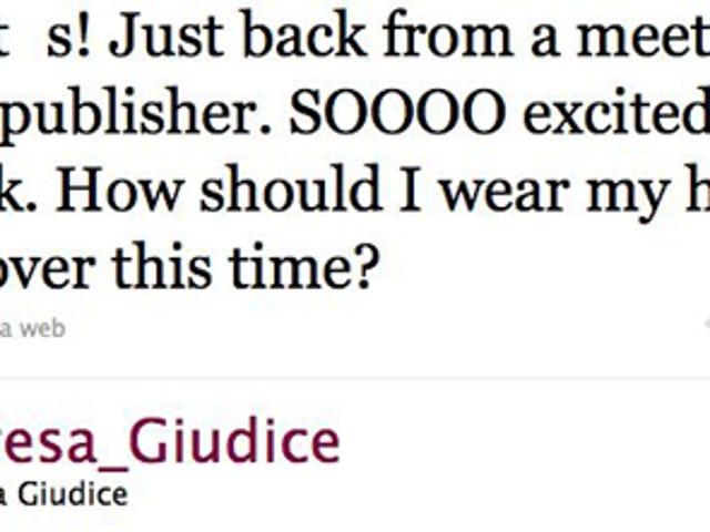Teresa Giudice Hard At Work On New Book