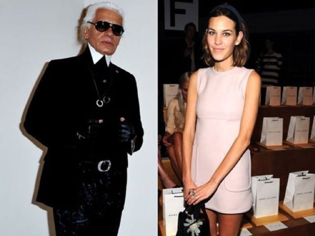 Karl Lagerfeld Can School You In Algebra, Apparently