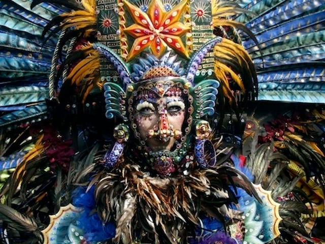 Must-See Makeup, Headdress From Indonesia