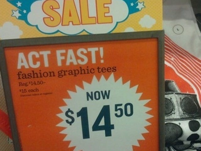 "Old Navy Doesn't Understand The Meaning Of ""Sale"""