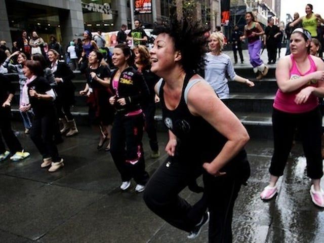 Slipper-Clad Australians Attempt to Set A Dancing World Record