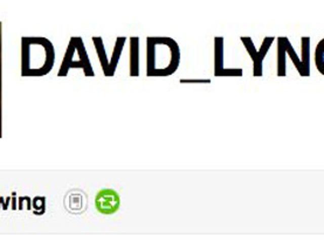 David Lynch Is Very Crafty