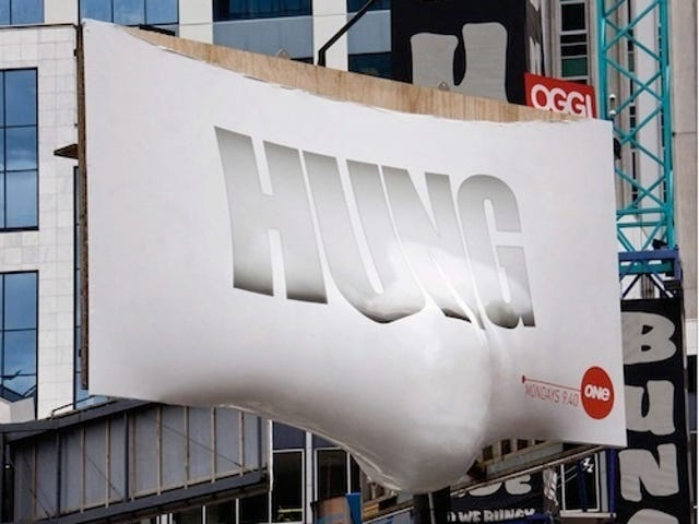 This Is How You Advertise A Show Called Hung