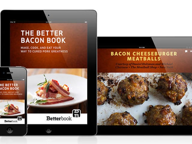 The Better Bacon Book: Bacon on Bacon on Bacon on iPad