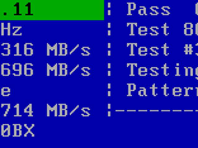 Memtest86+ Boot CD Checks System Memory