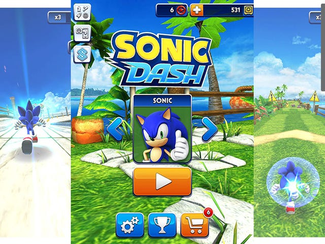 Finally an Original Mobile Game That Plays to Sonic the Hedgehog's Greatest Strength