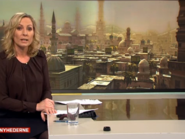Someone Put an Assassin's Creed Screengrab In a TV Report on Syria