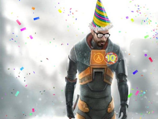 Happy Birthday Half Life, Now You Are Ten