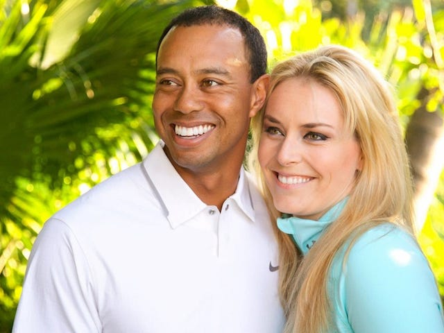 Tigers Woods And Lindsey Vonn Are Facebook Official