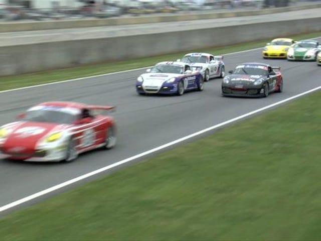 History Porn! Porsches Race With Classic Paint Schemes