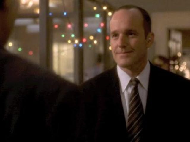 Watch S.H.I.E.L.D. Agent Coulson's first job as a character on The West Wing