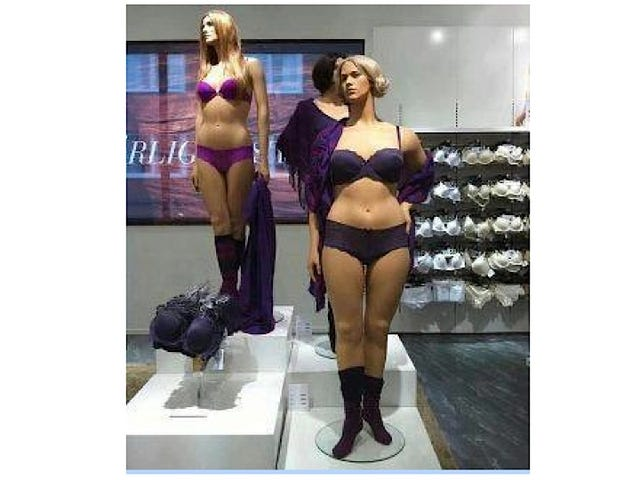 Oh Look! A Reasonably-Sized Mannequin for Real Human Women