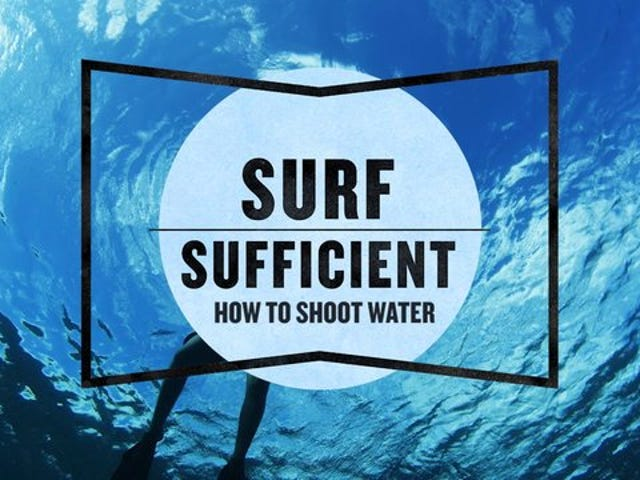 How to Shoot from the Surf Without Drowning Yourself