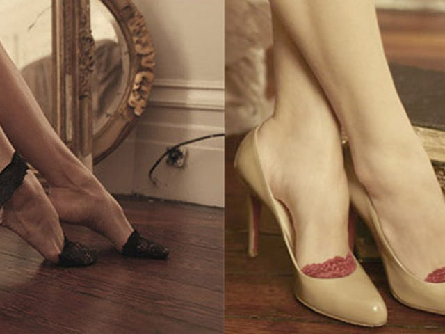 Cover Your Toes In Expensive Lace!