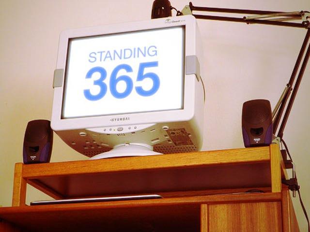 Un año en mi escritorio de pie