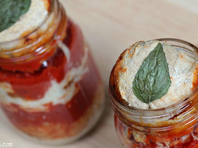 Make Pizza in a Jar for Portable, Kid-Friendly, Somewhat Shelf Stable Way to Sate Your Pizza Cravings Anytime