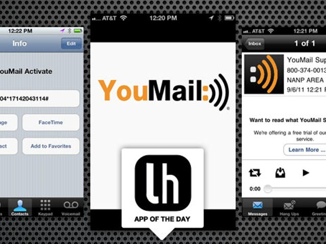 YouMail Makes Your Smartphone's Voicemail Truly Visual and Accessible from Anywhere