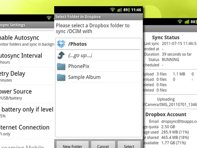 DropSync Automatically Syncs Dropbox Folders with Your Android Phone