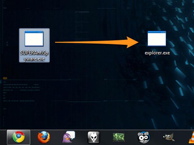 Trick Viruses by Renaming Your Anti-Virus Program to Explorer.exe