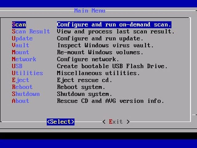 AVG Rescue CD Cleans Your Infected Windows PC